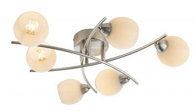 Lubinis šviestuvas Robin 6x40W E14 54002-6 Globo Lighting