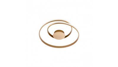 Lubinis šviestuvas Torsion Ceiling 55cm Bronze 4000K 01-1887 Redo Group