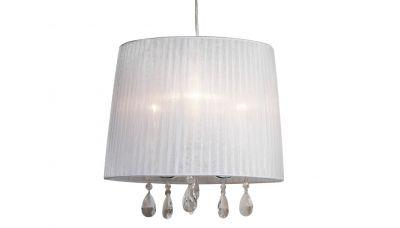 Pakabinamas šviestuvas GL-599/3 Baltas (GL-533-3) 1256 G.LUX