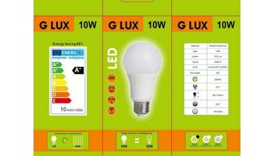 LED Lemputė GR-LED-A60-10W 1355 G.LUX