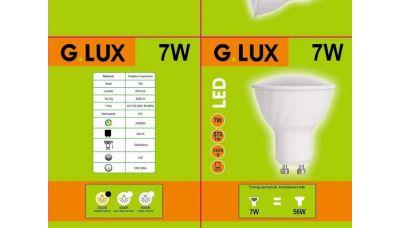 LED Lemputė GR-LED-GU10-PA-7W 1249 G.LUX