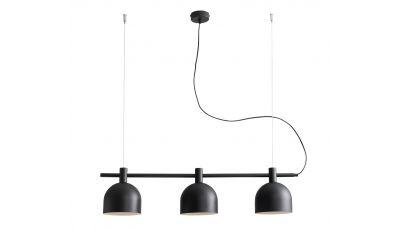 Pakabinamas šviestuvas Beryl 3 Black 976E_1 Aldex