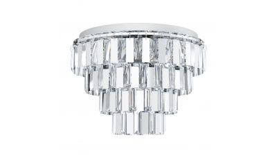 Lubinis šviestuvas Erseka Ceiling Chrome 99093 Eglo