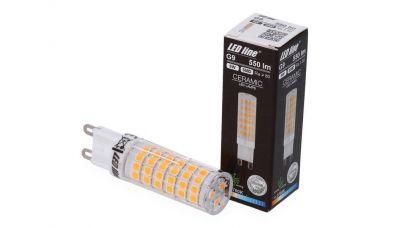 G9 LED lemputė 6W 550lm šiltai balta 245947 LED Line