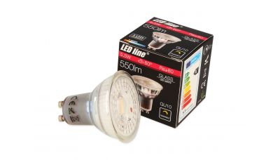 GU10 LED lemputė 5.5W 500lm neutraliai balta 240638 LED Line