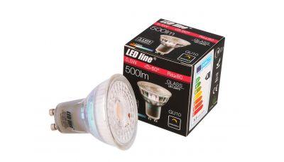 GU10 LED lemputė 5.5W 500lm šiltai balta 240621 LED Line