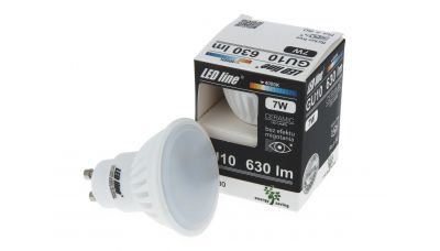 GU10 LED lemputė 7W 630lm neutraliai balta 247620 LED Line