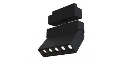 Šviestuvas bėgeliams Magnetic Track Lighting POINTS LED Black 10W 3000K TR015-2-10W3K-B Maytoni