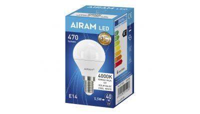 LED Lemputė LED OP P45 840 E14 6435200215208 Airam