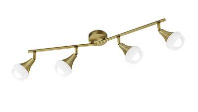 Lubinis šviestuvas Trumpet spotlight 4-pc. 4xE14 Brass 803100404 TRIO Lighting