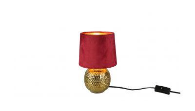 Stalinis šviestuvas Sophia Table E14 Burgundy R50821010 TRIO Lighting