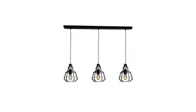 Pakabinamas šviestuvas Pendant Light 1532 3 Black 1532 Zambelis Lights